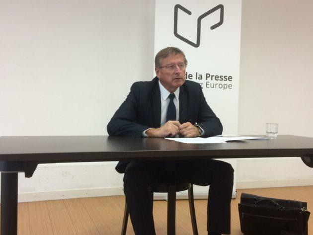 Patrick Tassin n'est pas très favorable à une Alsace à statut particulier dans un Grand Est (photo JFG / Rue89 Strasbourg)