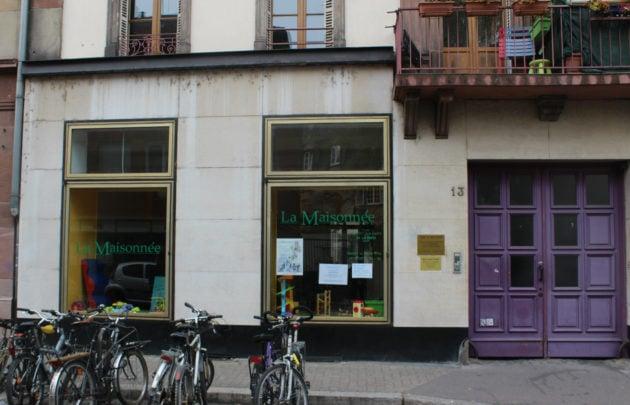 La Maisonnée accueillera deux Lieux d'accueil parents enfants différents. (photo JFG / Rue89 Strasbourg)