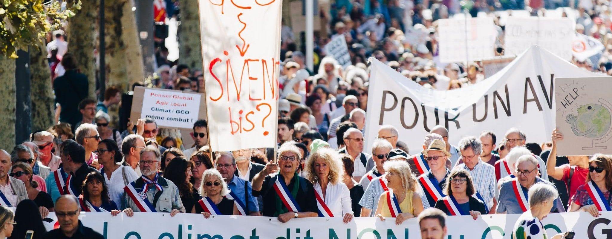Nouvelle manifestation strasbourgeoise contre le GCO samedi