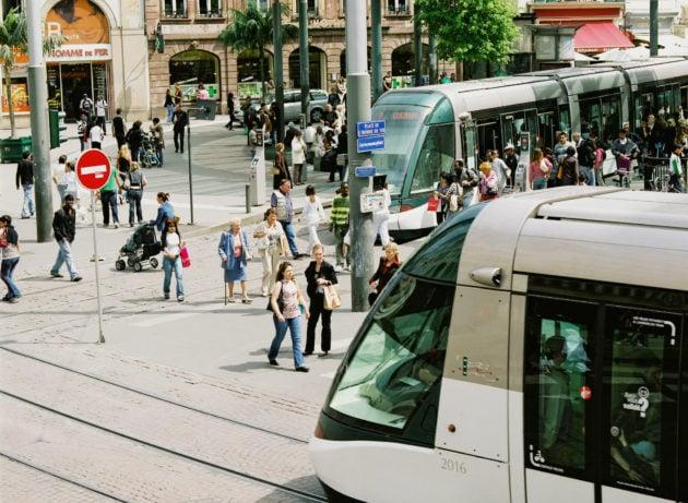 La gratuité entraînerait-elle un afflux ingérable sur les lignes de tram ? (photo Pascal Bastien / Divergence)
