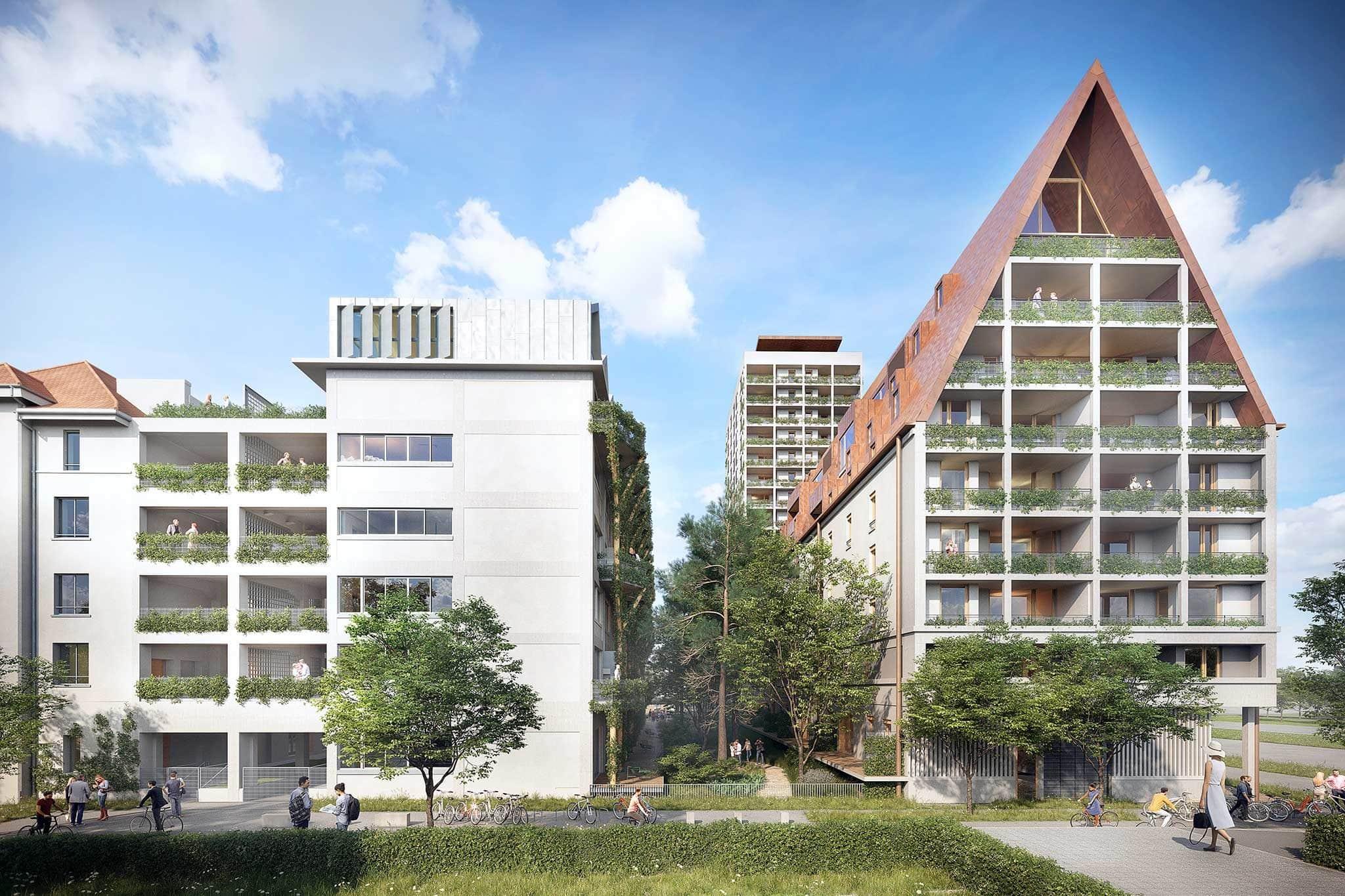 Avec m² de bureaux loués en strasbourg garde le cap