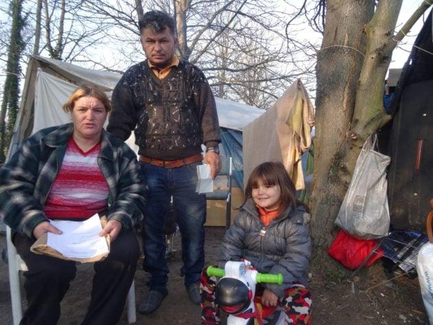 Les familles vivent dans des conditions déplorables (Photo Gérard Baumgart)