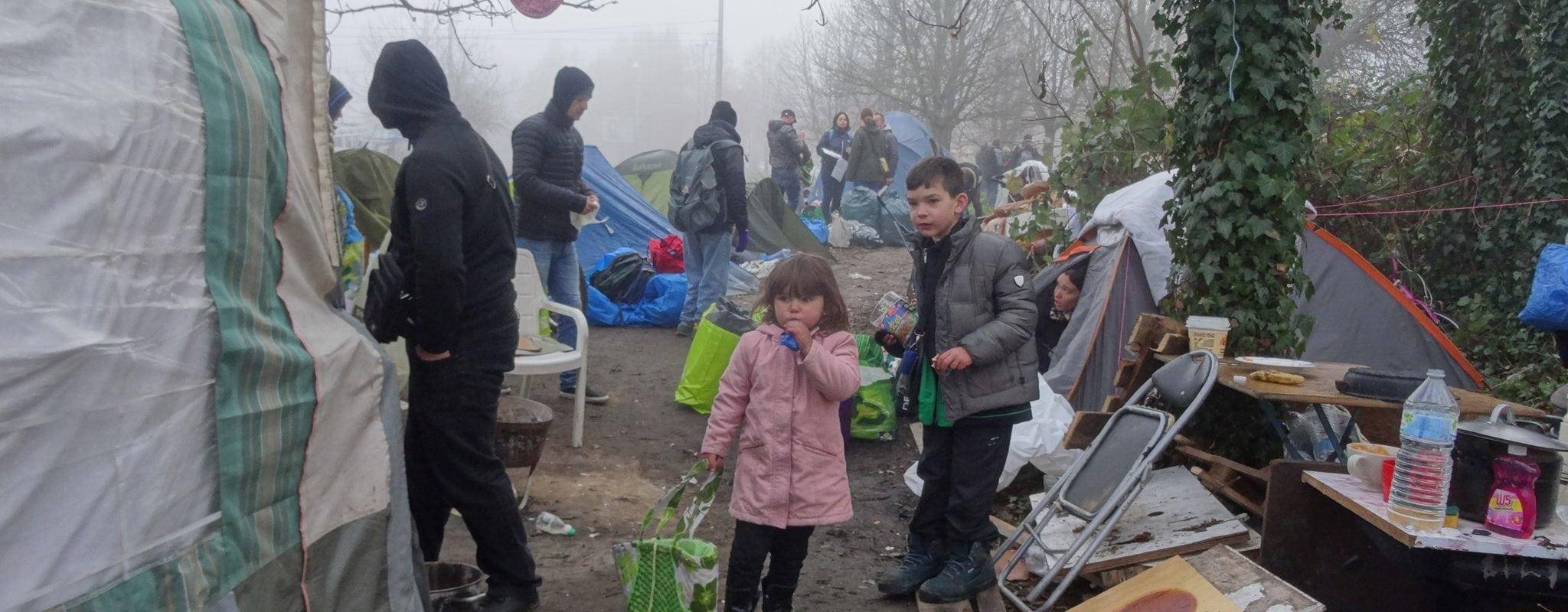 Le camp des Ducs d'Alsace évacué