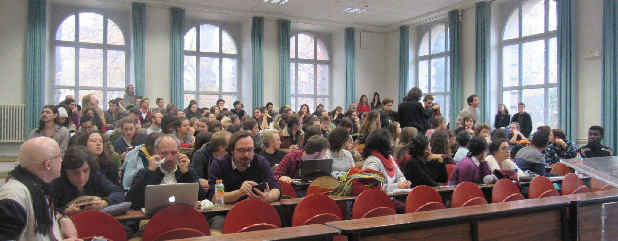 Des étudiants strasbourgeois contre le projet «Bienvenue en France»