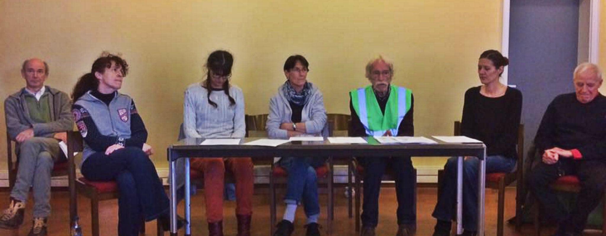 Épuisés, cinq opposants au GCO mettent fin à la grève de la faim