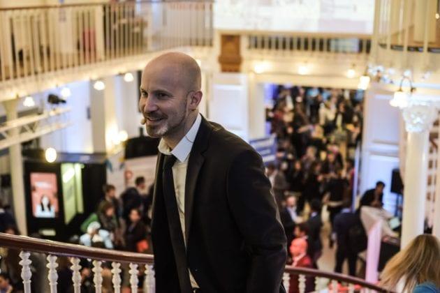 Jean-Christophe Anna lors du salon RMS Conf en 2016 (doc remis)