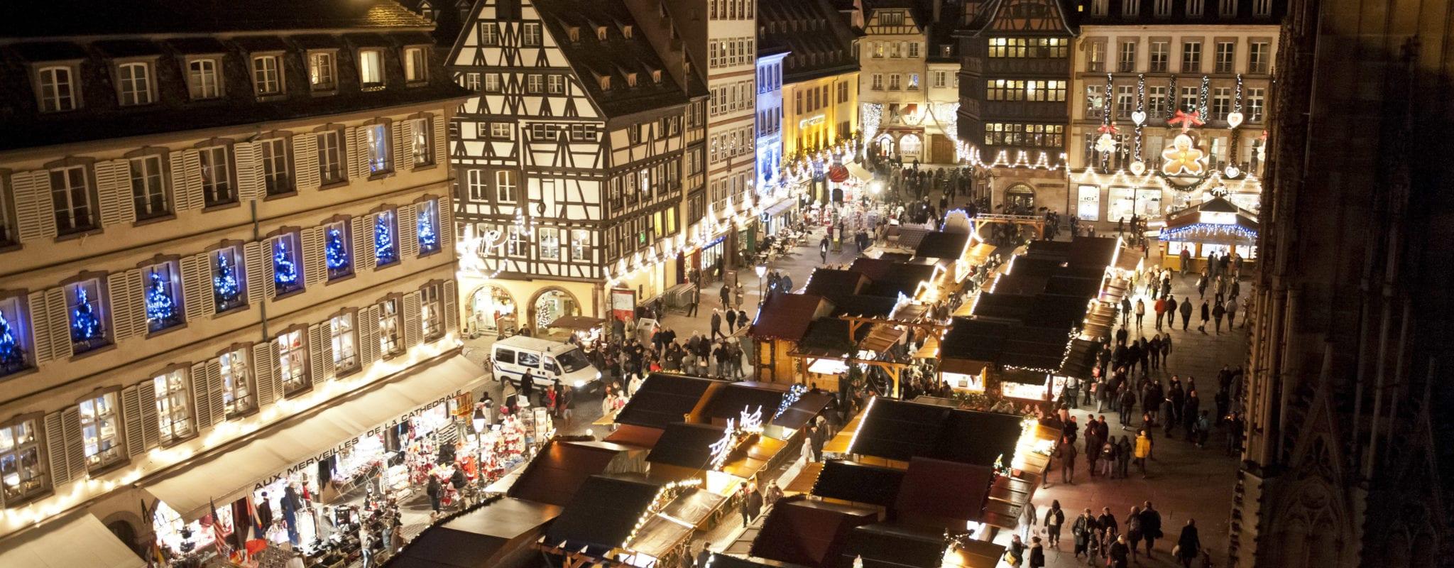 ? Revoir la présentation du Marché de Noël de Strasbourg en direct?