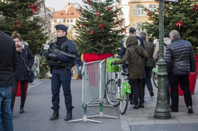 Le dispositif hérité des attentats contre Charlie Hebdo et de Paris est reconduit en 2018 (Photo Pascal Bastien / Divergence)