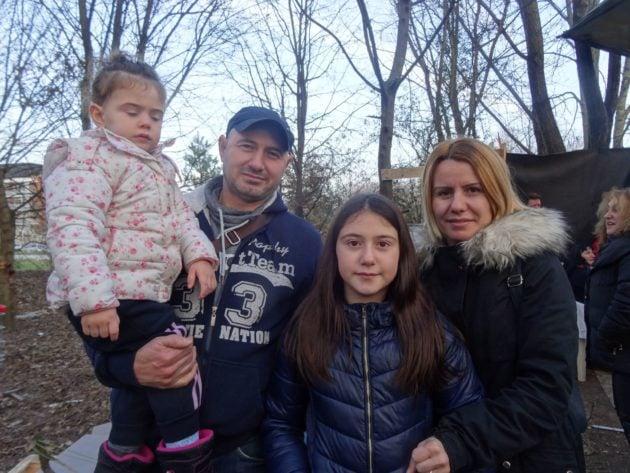 Les familles viennent d'Albanie, l'un des pays les plus pauvres de la planète (Photo Gérard Baumgart)
