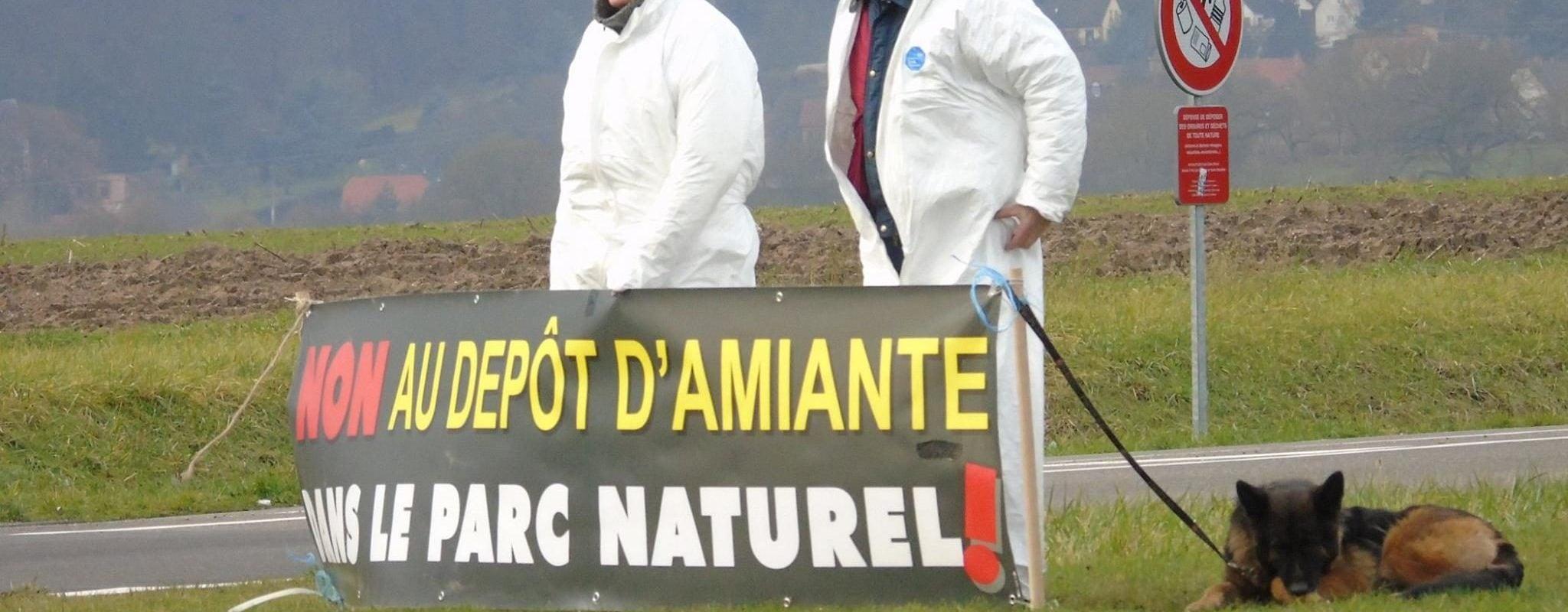 Un stockage d'amiante à Niederbronn secoue le parc régional des Vosges du nord