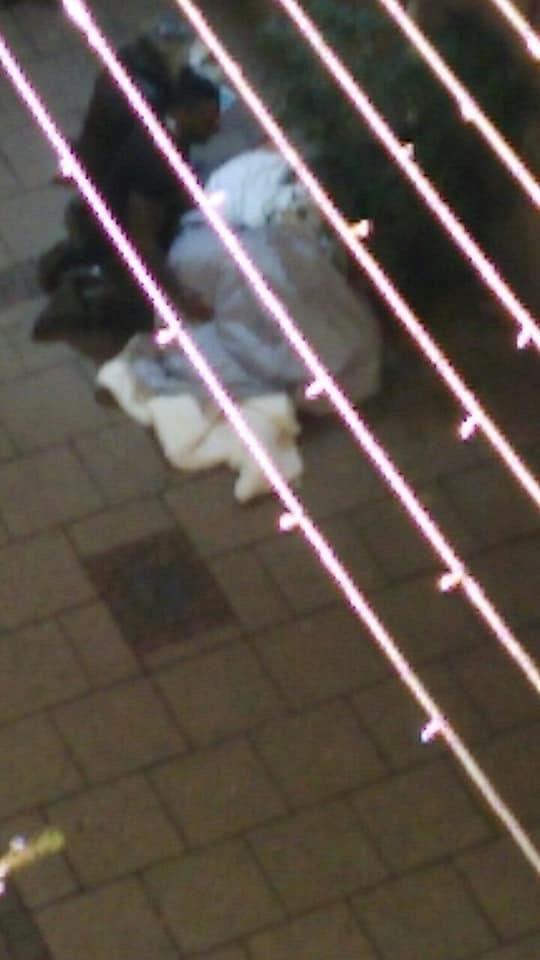 Des personnes ont été retrouvées à terre rue des Grandes Arcades (doc remis)