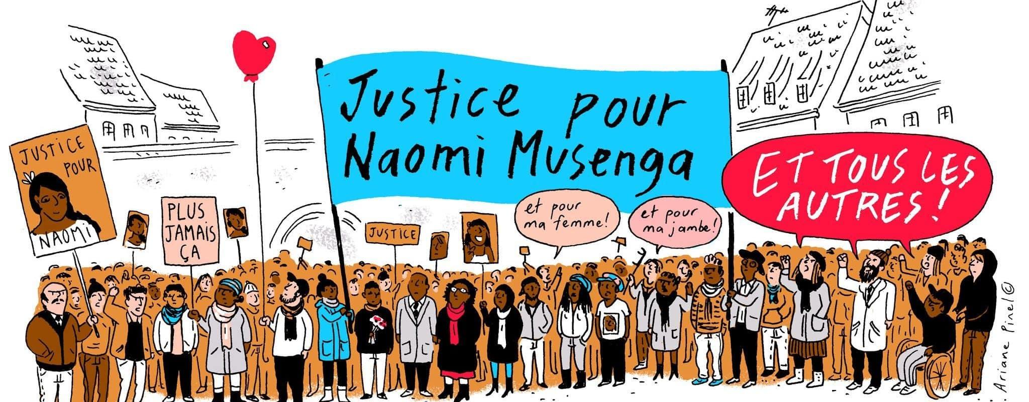 Un an après la mort de Naomi Musenga, un rassemblement pour obtenir des réponses