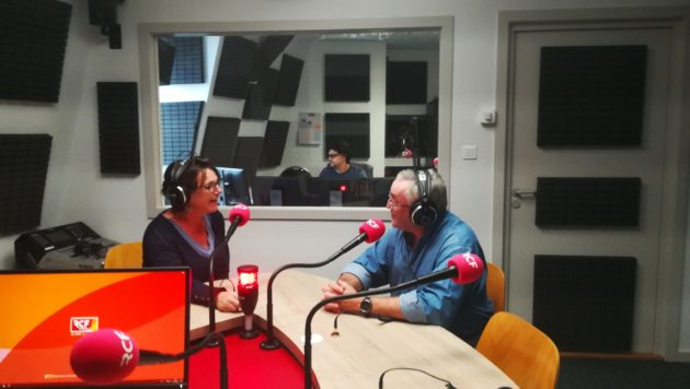 Faute de place sur la bande FM, la Radio chrétienne francophone (RCF) n'était pas présente en Alsace. Pour elle, l'ouverture de multiplex DAB + est une opportunité d'émettre en terre concordataire. (Photo CG / Rue89 Strasbourg / cc)