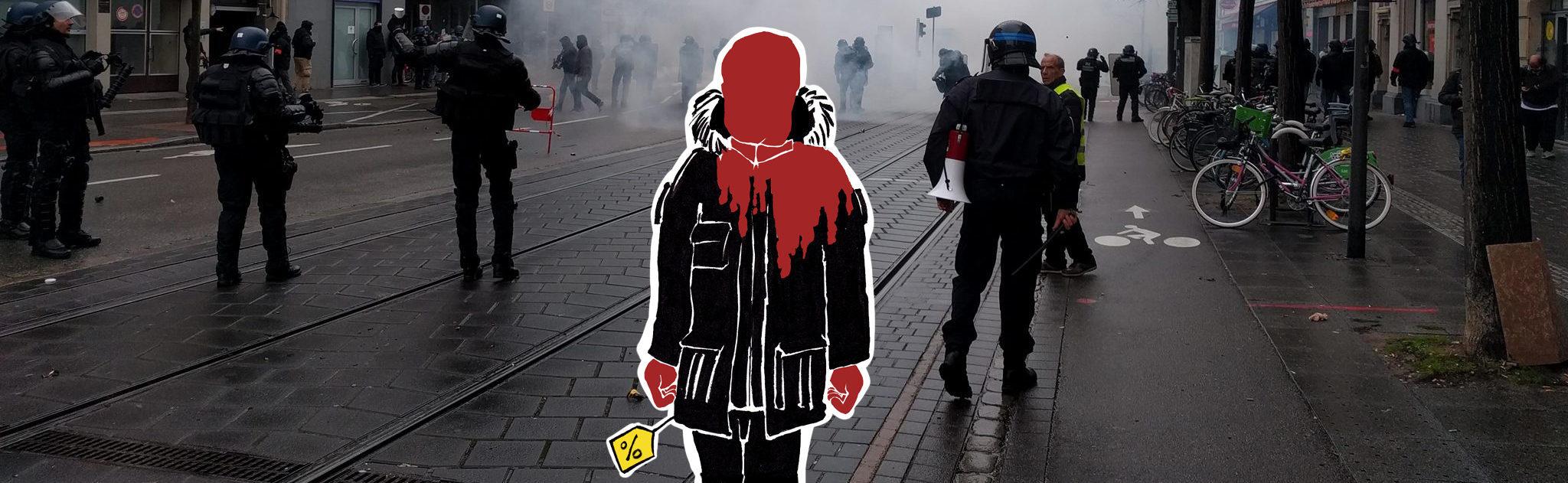 Bavure policière : rhabillé pour l'hiver