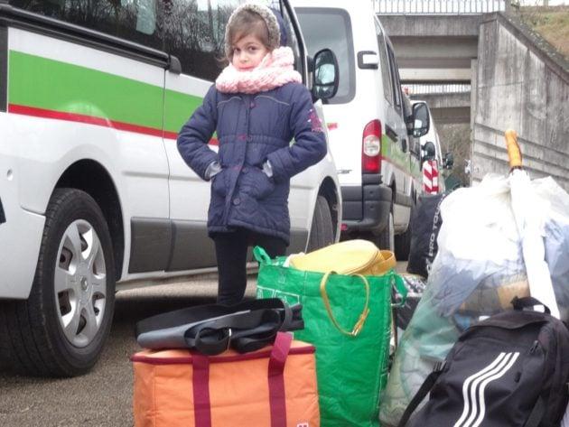 La Ville de Strasbourg s'est elle-même chargée de l'évacuation et du démantèlement des camps (Photo Gérard Baumgart / doc remis)
