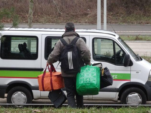 Les familles et les personnes isolées sont restées plusieurs semaines dans le froid (Photo Gérard Baumgart / doc remis)