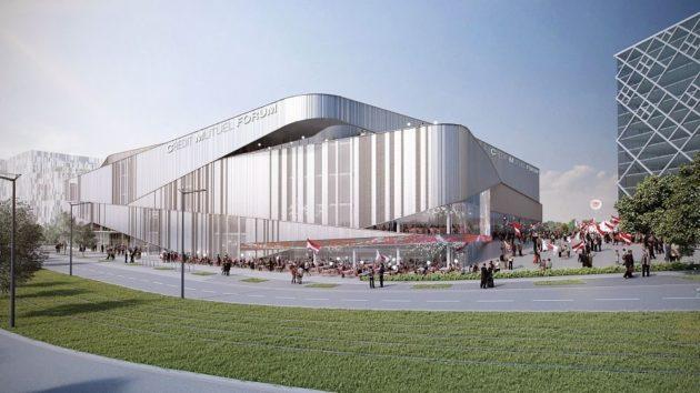 La nouvelle arena de la Sig Strasbourg doit ressembler à ça (Crédit Chabanne + Partenaires / Architecte)