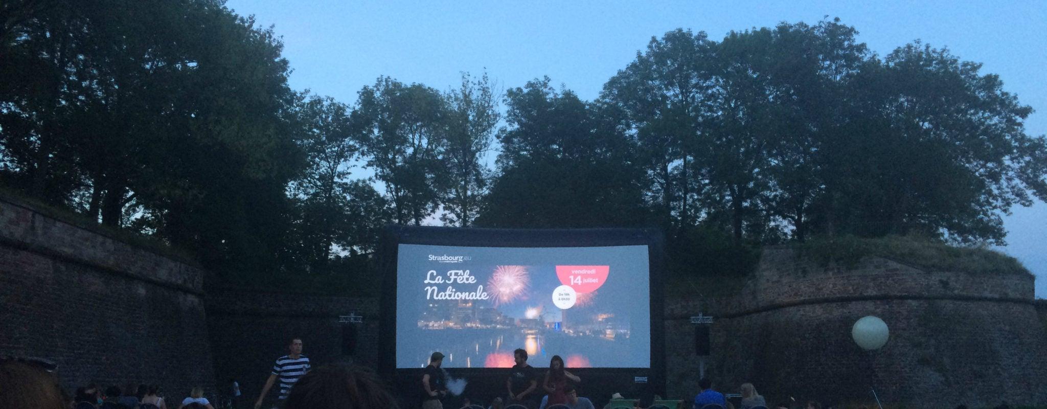 Les séances de cinéma en plein air reconduites pour l'été 2019
