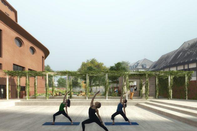 Un espace polyvalent devrait proposer une série d'activités en rapport avec le bien-être (Photo Luxigon / SPL Deux-Rives / doc remis)
