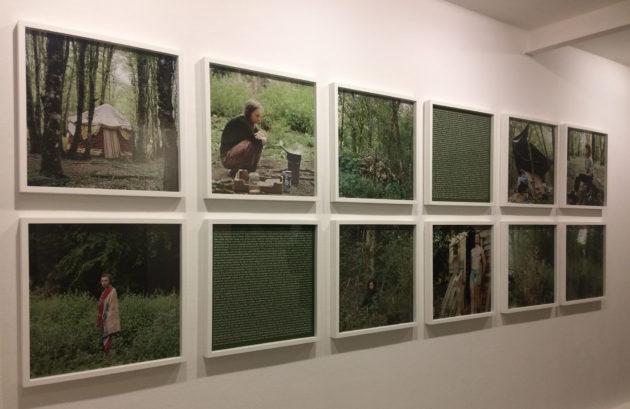 Jürgen Nefzger, Bure ou la vie dans les bois, 2017 (Photo Daniela Zepka)