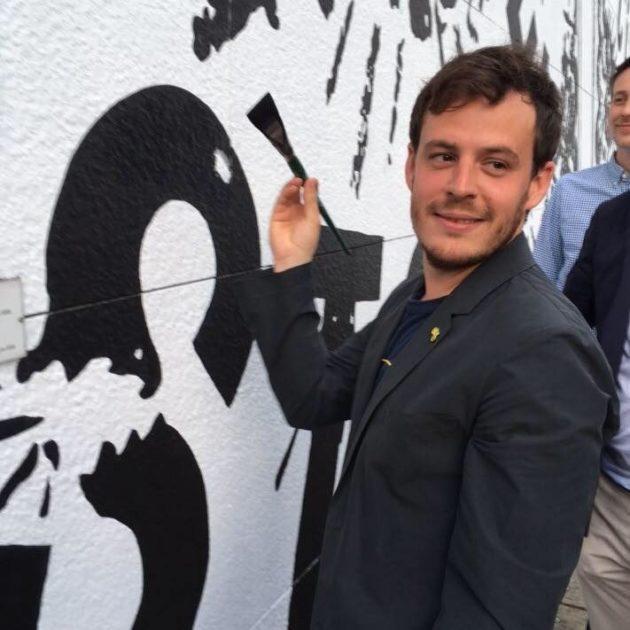 Jean-Baptiste Gernet a été élu pour la première fois en 2014, c'est l'un des plus jeunes élus à Strasbourg (photo Facebook)