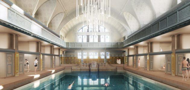 Eiffage et Équalia choisis pour rénover et gérer des Bains municipaux étendus en spa