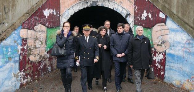 Le ministre de la Ville découvre l'Elsau à quatre mois d'une réunion cruciale pour l'avenir du quartier