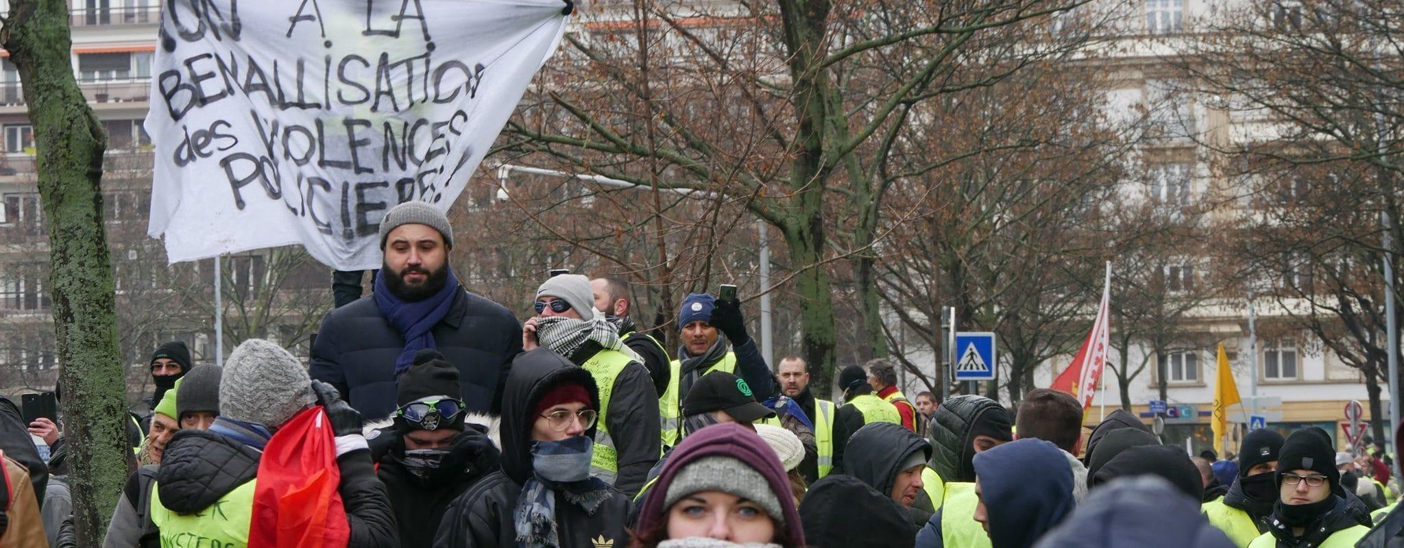 Acte IX à Strasbourg: le point sur les plaintes et les condamnations de Gilets jaunes