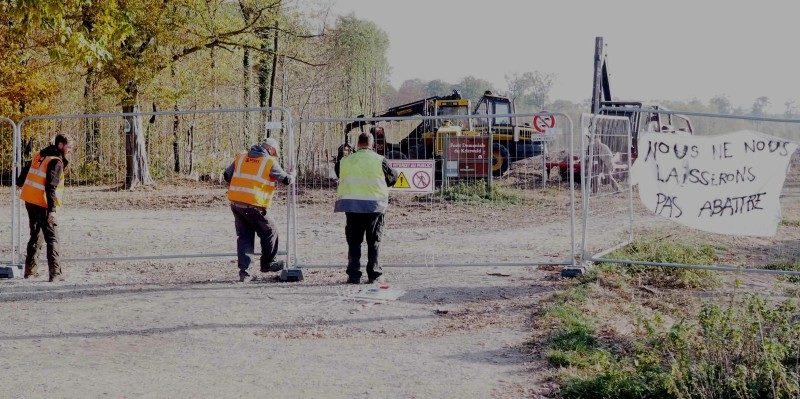 GCO : le chantier de l'échangeur au nord peut reprendre