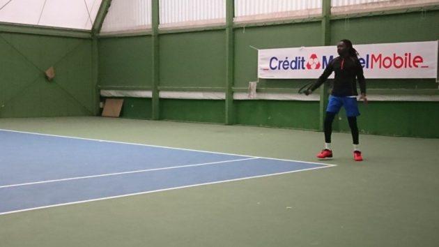 Zakaria pratique le tennis depuis des années, mais s'est lancé en compétition récemment, avec le CSA Garnison Strasbourg (doc remis)