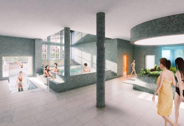L'espace bien-être s'enrichit d'un spa et d'une série d'équipements (Photo Luxigon / SPL Deux-Rives / doc remis)