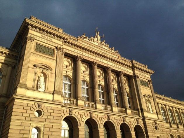 Le bâtiment historique de l'Université de Strasbourg (Photo Patrick Müller / Flickr / cc)