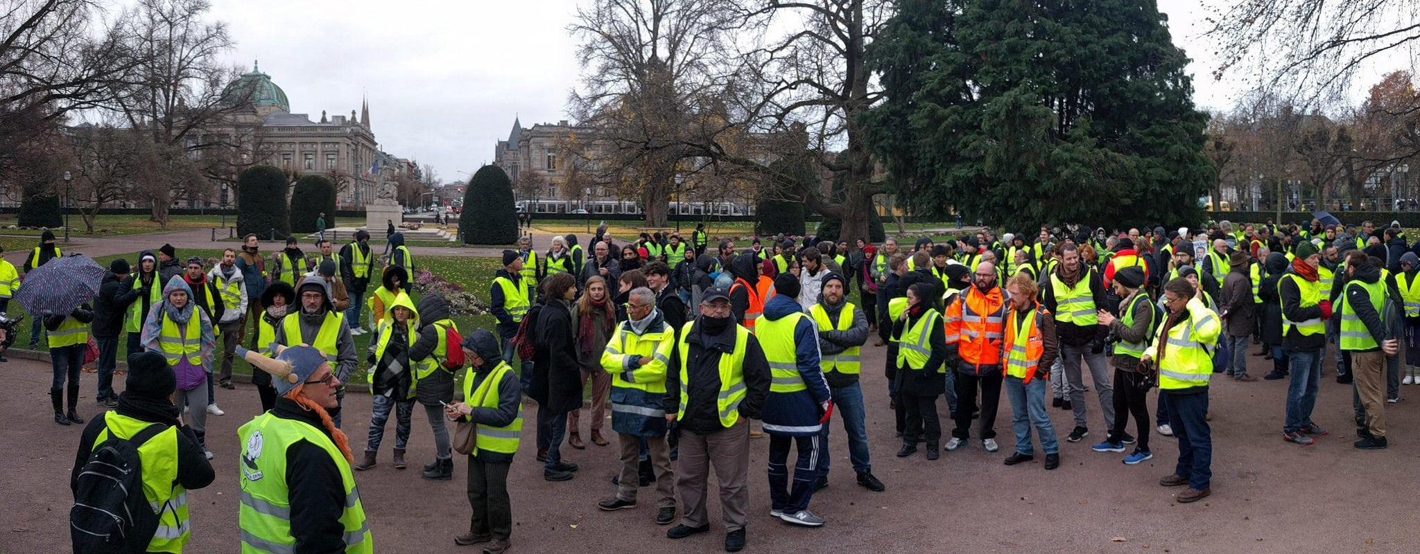 Gilets jaunes : le timide soutien des quartiers populaires de Strasbourg