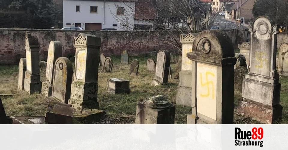 Les actes antisémites en Alsace en recrudescence depuis 2018