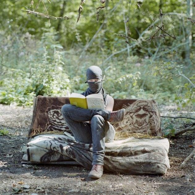 Jürgen Nefzger, photographie de la série Bure, ou la vie dans les bois, 2017 © Galerie Françoise Paviot