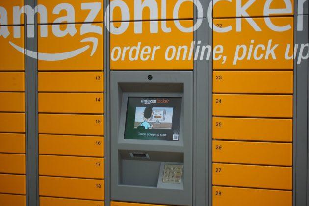 Les casiers Amazon ont été installés sur l'emprise de la gare d'Épinal (Photo Othree /FlickR / cc)