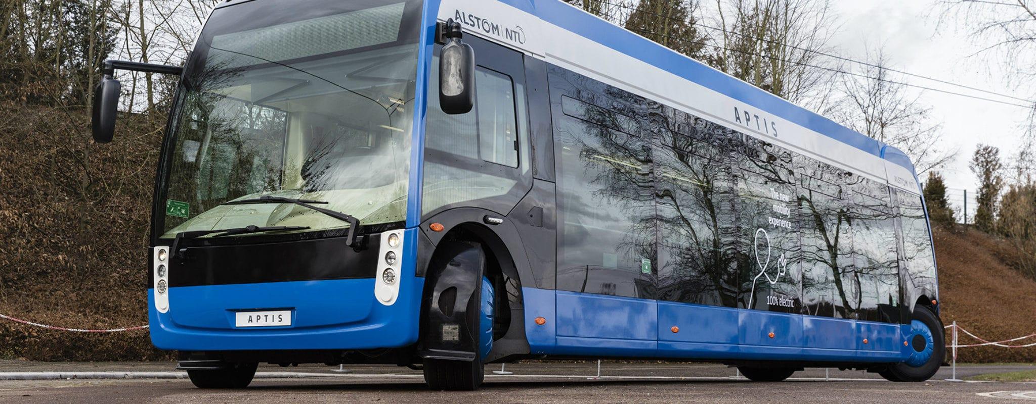 Strasbourg choisit les bus électriques Aptis