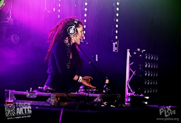 DJ Mute, alias Cécile Roque (doc remis)