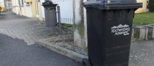 Des déchets du Kochersberg dans les poubelles de Hautepierre