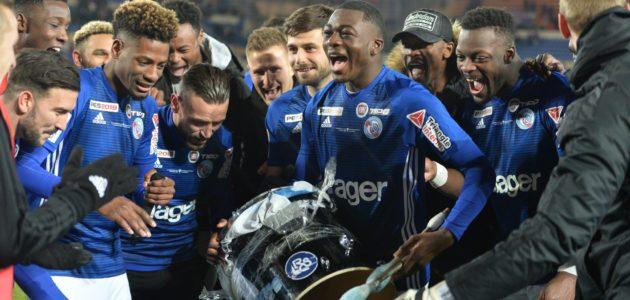 Le Racing en finale de la Coupe de la Ligue: une odyssée en 4 temps