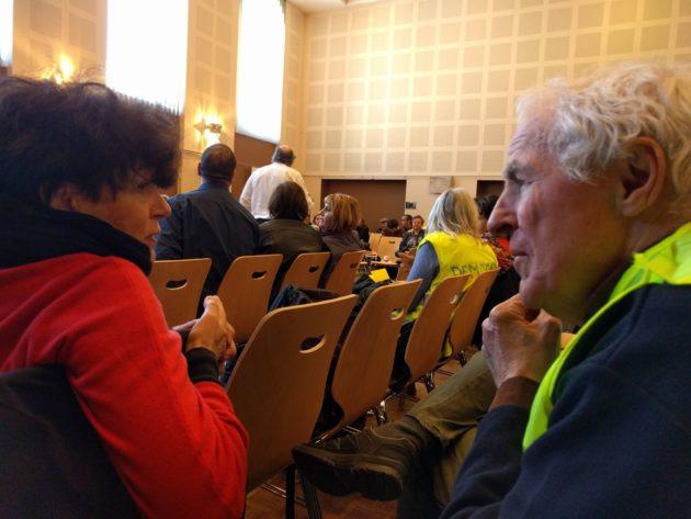 Militant depuis de nombreuses années, Jean-Jacques écoute (Photo PF / Rue89 Strasbourg / cc)