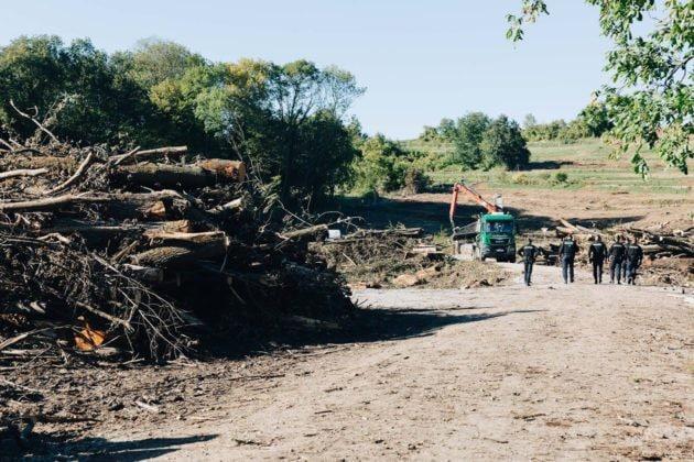 Quand elles ne sont pas évitées, les destructions d'espaces naturels impliquent des compensations diverses pour la nature pendant... 54 ans. Ont-elles toutes été mises en oeuvre ? (photo Abdesslam Mirdass / Rue89 Strasbourg)
