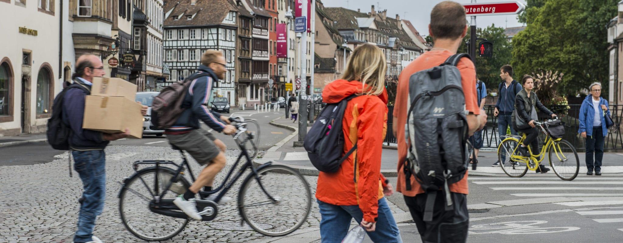 Au conseil de l'Eurométropole, un Plan pour cyclistes et piétons sous-financé