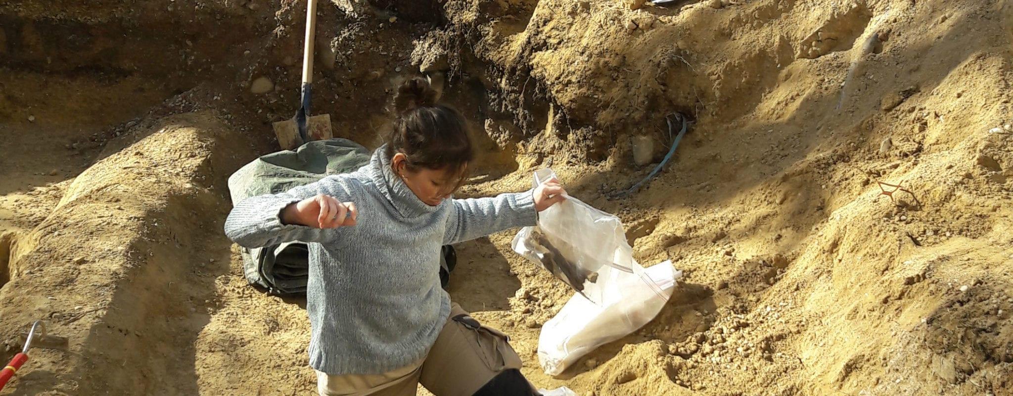 Un squelette découvert quartier Gare sur le chantier du tram