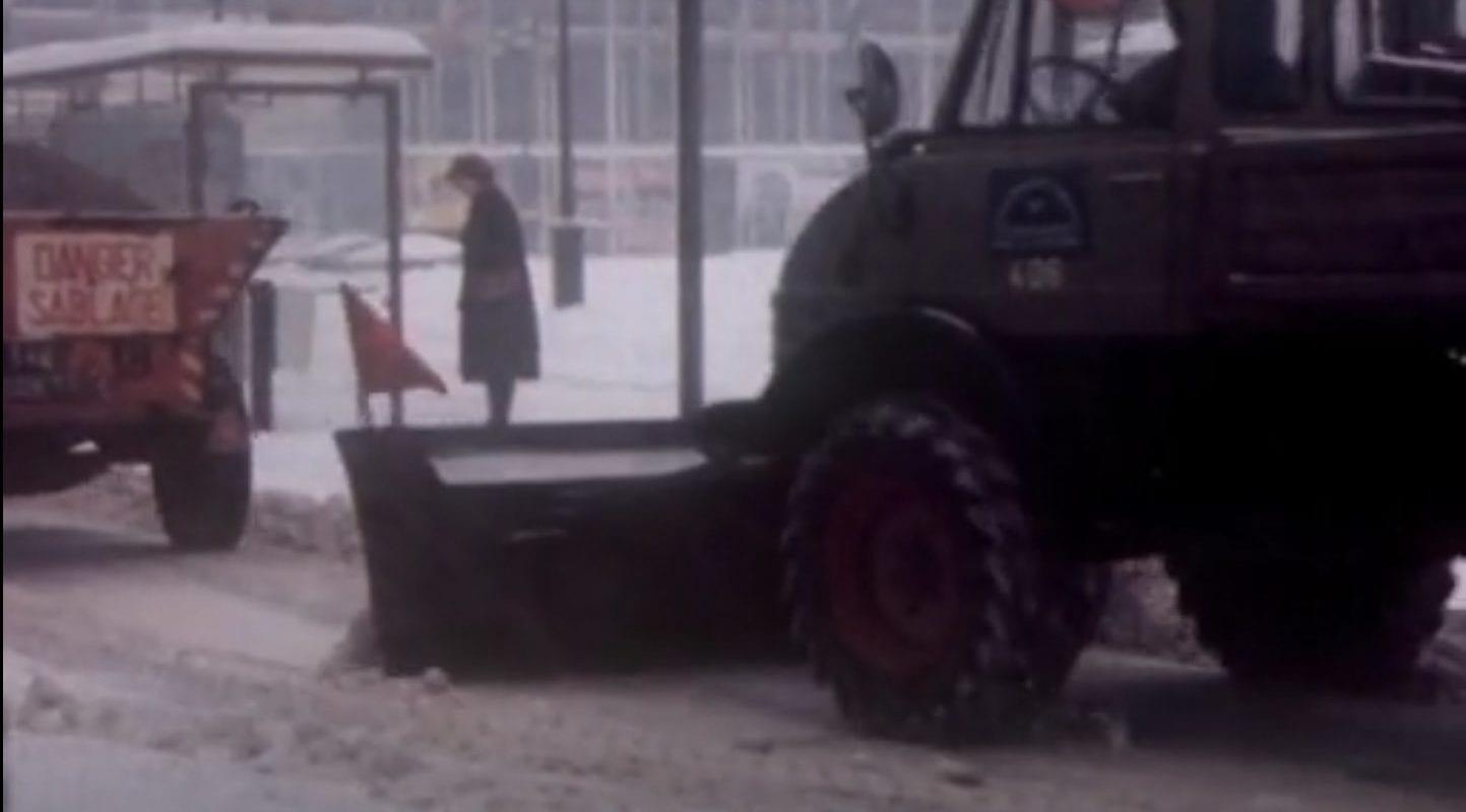 Il y a 40 ans, à cette même période, des tracteurs déneigeaient la place Kléber