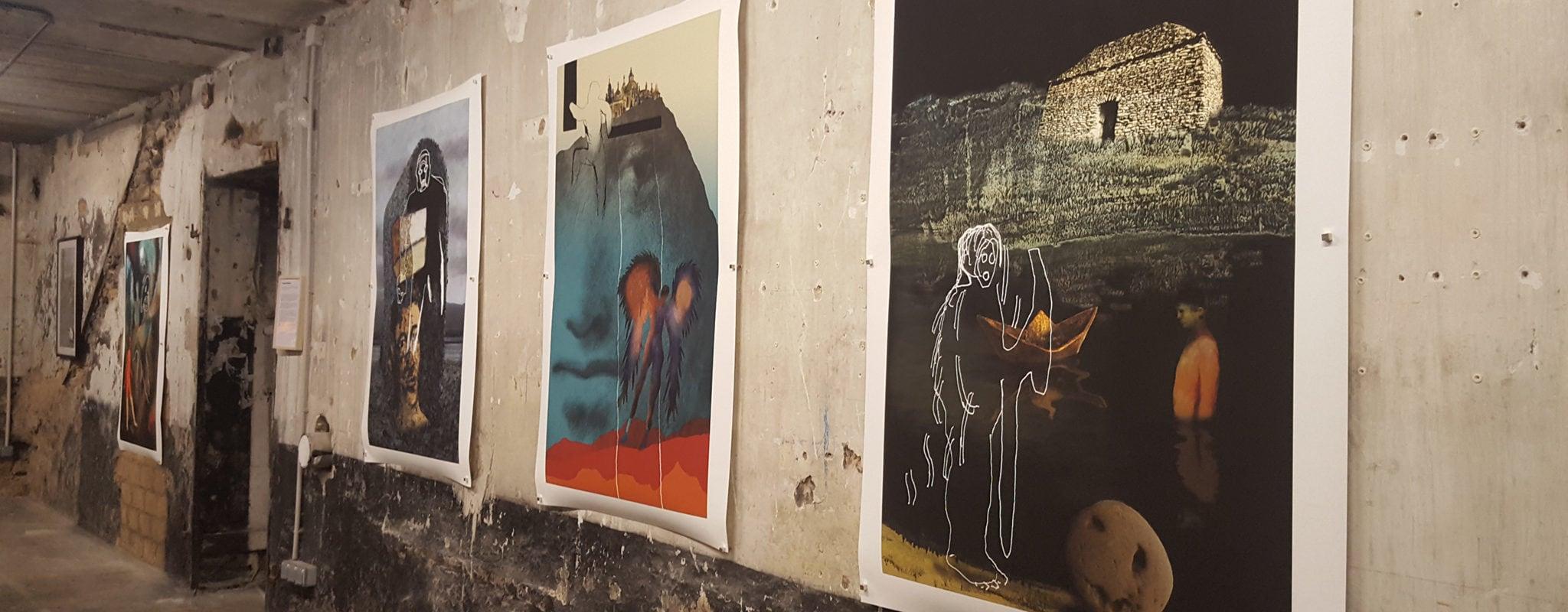 À la galerie Aedaen, la résistance colorée des murs en béton avec Banlieue-Banlieue et Antoine Hoffmann