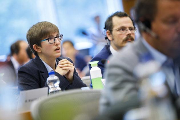 Pour Julia Reda, le Parlement européen, c'en est fini : elle ne briguera pas un nouveau mandat. (Photo : EP)