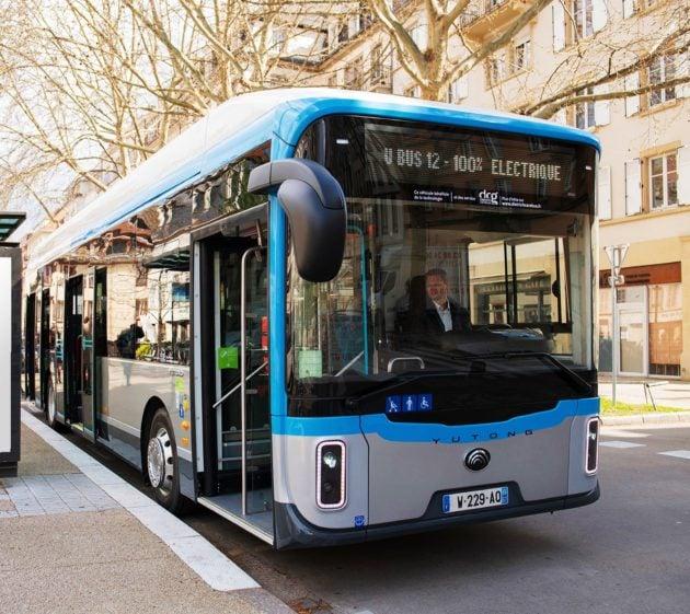 Les bus chinois doivent équiper la ligne 10 (doc remis)