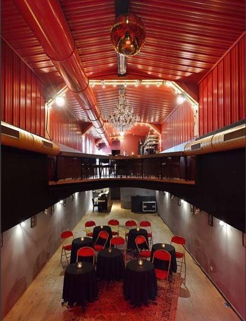 La salle de spectacle du Cabaret Onirique (doc remis)