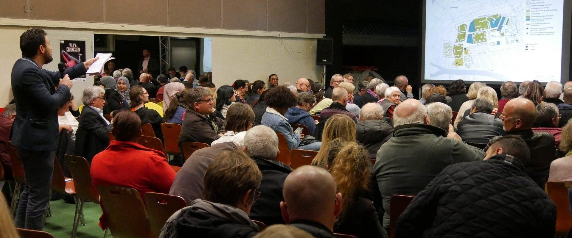 Face au projet de rénovation de l'Elsau, les habitants ne décolèrent pas